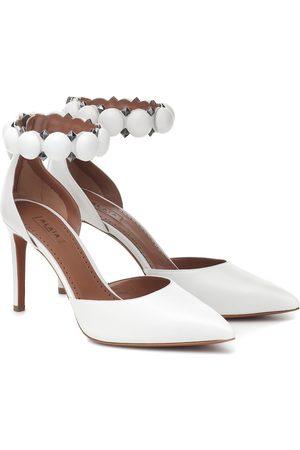 Alaïa Bombe 90 leather sandals