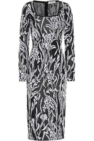 Givenchy Women Midi Dresses - Iris jacquard midi dress
