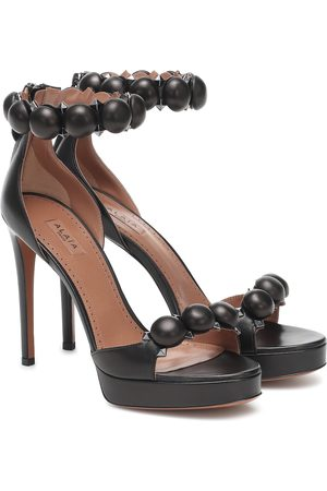 Alaïa Bombe 115 leather sandals