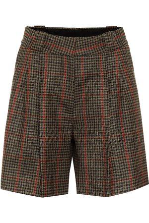 Blazé Milano Fell checked wool shorts