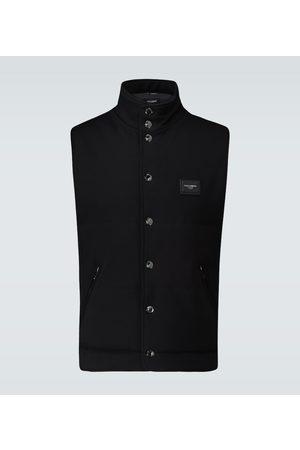 Dolce & Gabbana Padded sleeveless gilet