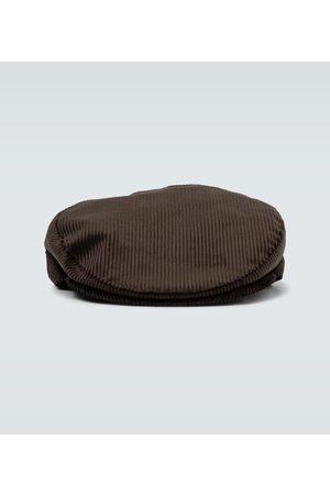 Dolce & Gabbana Corduroy baker boy hat