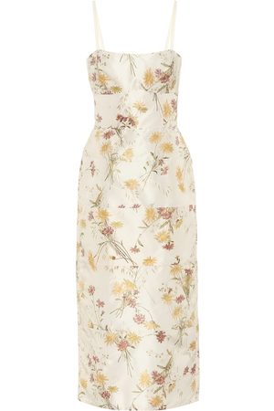 BROCK COLLECTION Exclusive to Mytheresa – Rachele floral silk midi dress