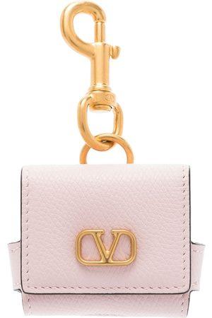 VALENTINO GARAVANI Women Phones Cases - VLOGO Signature earphone case