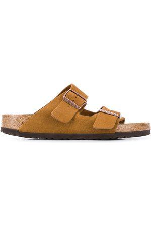 Birkenstock Boston suede sandals - Neutrals