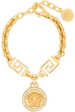 VERSACE Women Bracelets - Medusa-charm rolo-chain bracelet