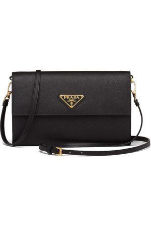 adidas Triangle logo strap wallet