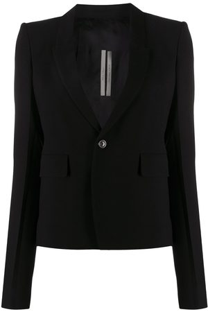Rick Owens 60cm single-breasted blazer
