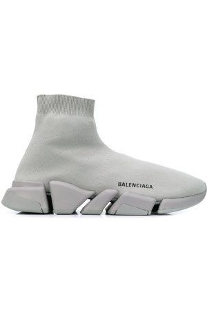 Balenciaga Logo-print Speed 2.0 sneakers - Grey