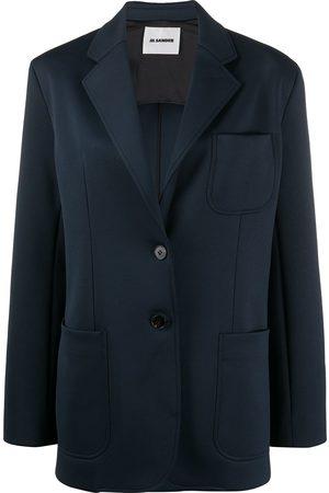 Jil Sander Single-breasted multi-pocket blazer