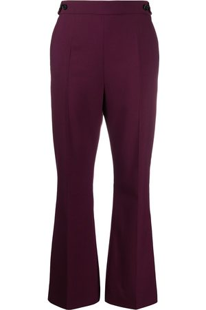 Marni High-waisted flared trousers