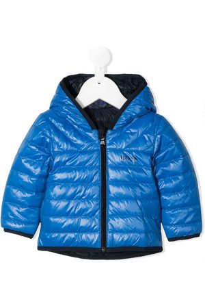 HUGO BOSS Reversible puffer coat