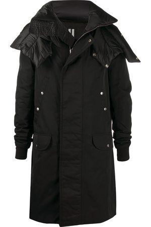 Rick Owens Spread-collar long coat