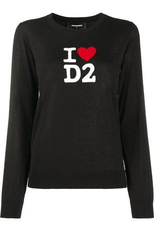 Dsquared2 I Love D2 wool jumper