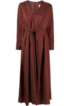 CHRISTIAN WIJNANTS Deliah knot-detail midi dress