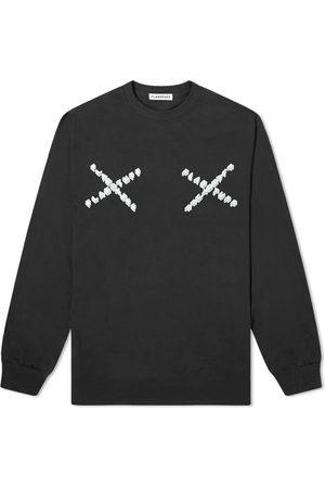 Flagstuff Long Sleeve Cross Logo Tee