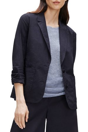 Eileen Fisher Petite Women's Notch Collar Shaped Jacket