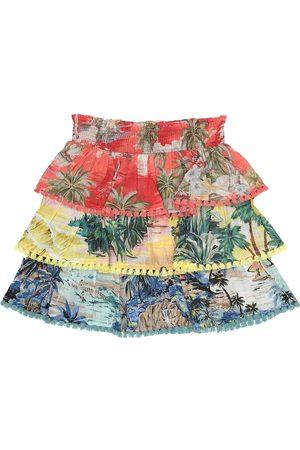 ZIMMERMANN Juliette printed cotton skirt