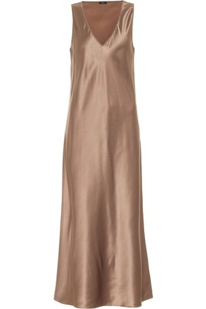 Joseph Daris silk-satin midi dress
