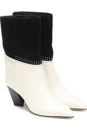 Jimmy Choo Bear 65 studded suede cowboy boots