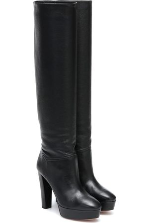 Aquazzura Chambord leather knee-high boots