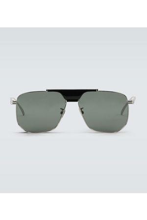 Bottega Veneta Metal frame sunglasses