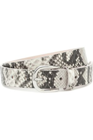 Isabel Marant Zap snake-effect leather belt