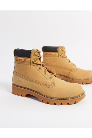 Cat Footwear CAT leather hiker boots in honey-Tan