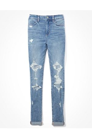 American Eagle Outfitters The Dream Jean Super High-Waisted Jegging Women's 0 Regular