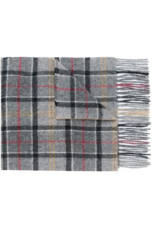 Barbour Men Scarves - Tartan scarf - Grey