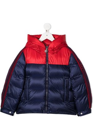 Moncler Colour-block down padded jacket