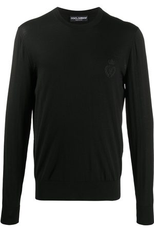 Dolce & Gabbana Crew-neck virgin-wool knit jumper