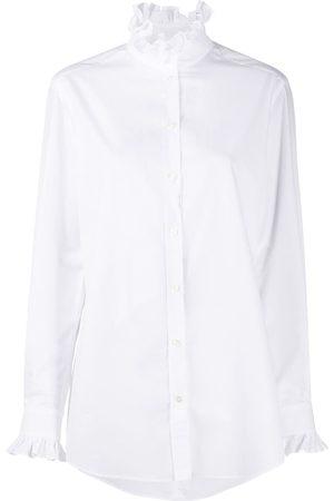 Dolce & Gabbana Ruched-details poplin shirt
