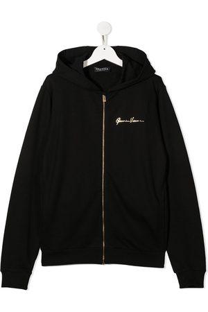 VERSACE Girls Hoodies - Zip front hoodie