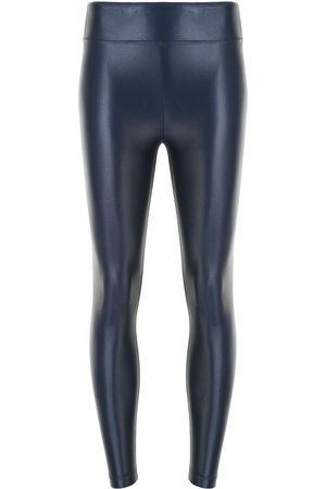 Koral Metallized logo leggings