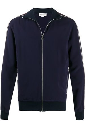 Alexander McQueen Men Jackets - Tapped logo track jacket