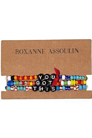 Roxanne Assoulin You Got This camp bracelets