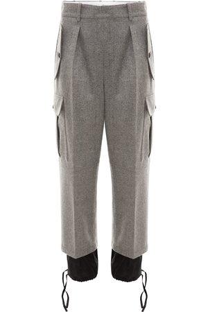J.W.Anderson Double hem cargo trousers - Grey