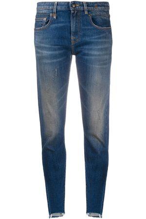 R13 Boy Skinny mid-rise jeans