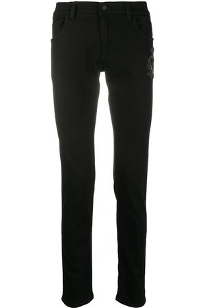 Dolce & Gabbana Skinny jeans with logo embellishment