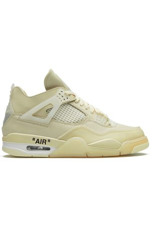 Nike Air Jordan 4 off- sail sneakers
