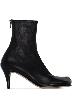 Bottega Veneta Bloc 70mm ankle boots