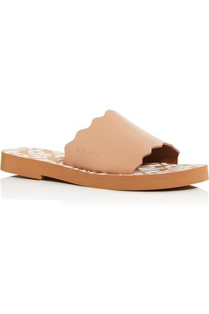 See by Chloé Women's Essie Scalloped Slide Sandals