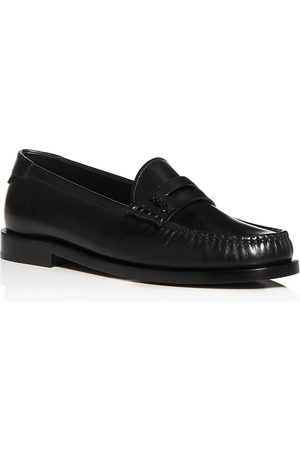 Saint Laurent Women Loafers - Women's Le Loafer Moc Toe Penny Loafers