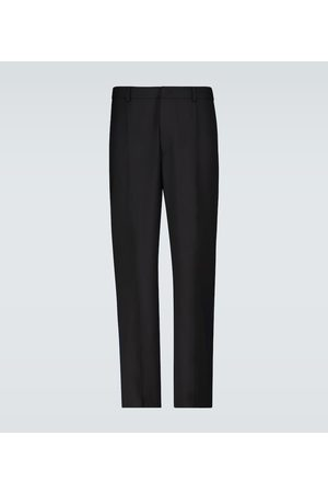 VALENTINO Logo-striped side panel pants