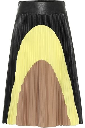 Stella McCartney Carmen pleated midi skirt