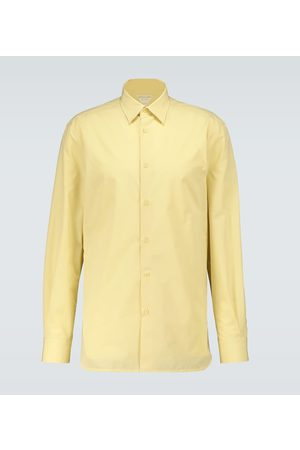 Bottega Veneta Slim-fit long-sleeved shirt