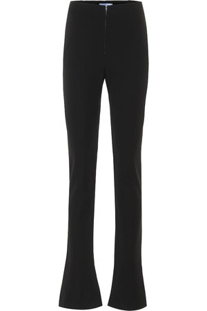 MUGLER High-rise slim pants