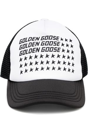 Golden Goose Logo canvas cap