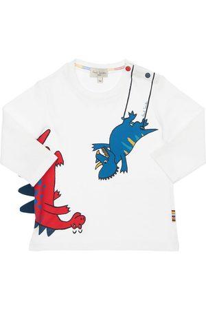 Paul Smith Dino Print Cotton Jersey T-shirt